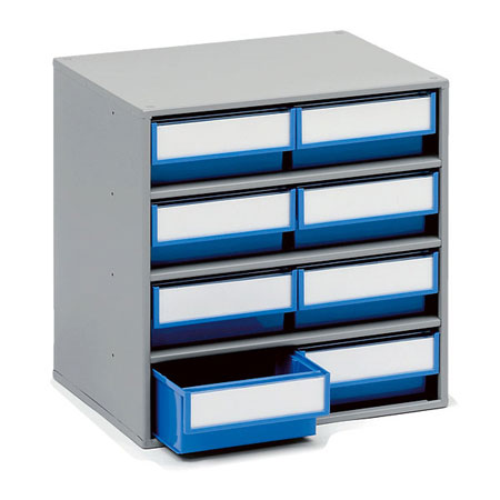 0830 - 300mm Deep cabinet with 8 Drawers