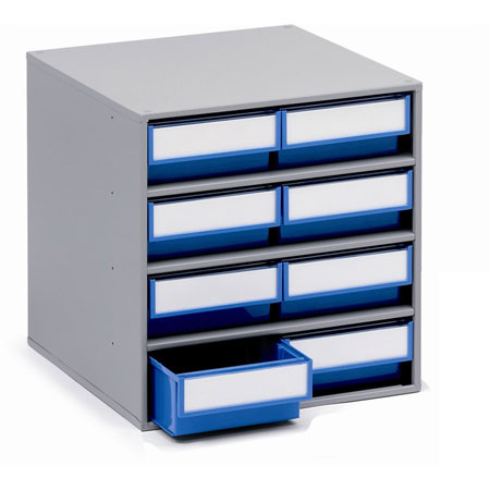 0840 - 400mm Deep cabinet with 8 drawers