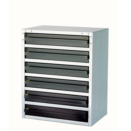 Raaco 103725 - 6/3 6 drawer ESD cabinet