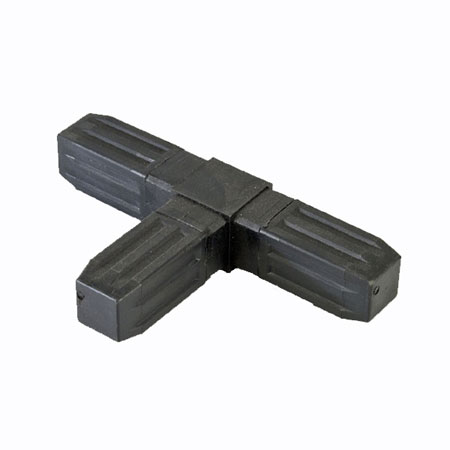 3WFB - Steel core ABS Plastic coated 25mm Connector for 25mm square tube system