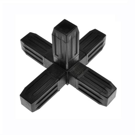 5WB - Steel core ABS Plastic coated 25mm Connector for 25mm square tube system
