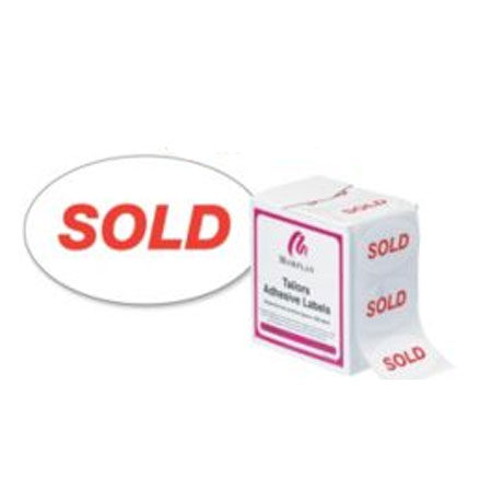 70485 Sold Labels (500)