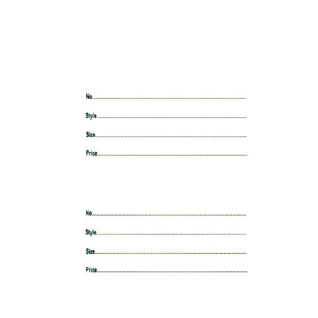 72432WH White 2 Part Labels Square