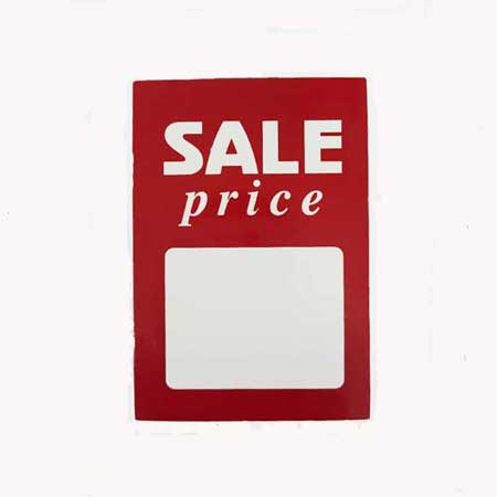77907 - Sale Cards 37 x 52mm Pack of 100