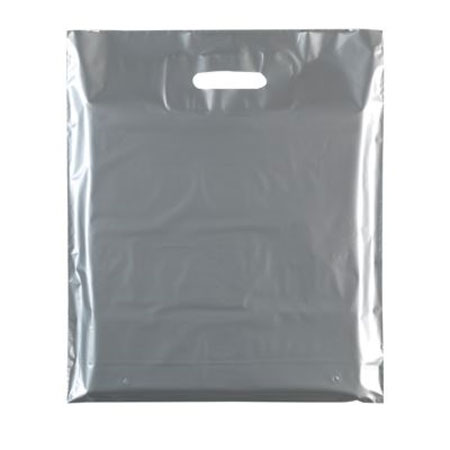 85224 HEAVY DUTY PLASTIC CARRIER BAGS PACK OF 100