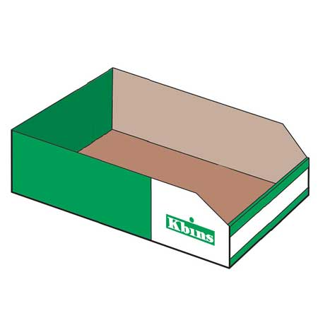 PKA4520 K Bin Carboard Parts storage box 450mm x 200mm