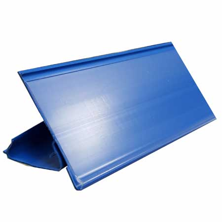 650mm Long BLUE Epos Data Strip for AMX35 Shelving