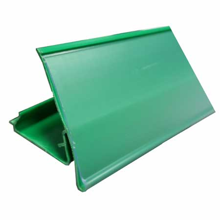 800mm Long GREEN Epos Data Strip for AMX35 Shelving