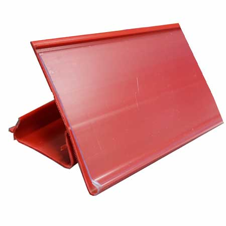 650mm Long RED Epos Data Strip for AMX35 Shelving