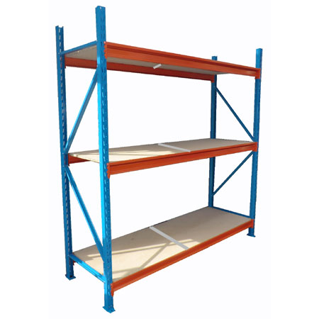 BD2018453ST 1840mm x 450mm Starter Bay 3 Levels Longspan Shelving
