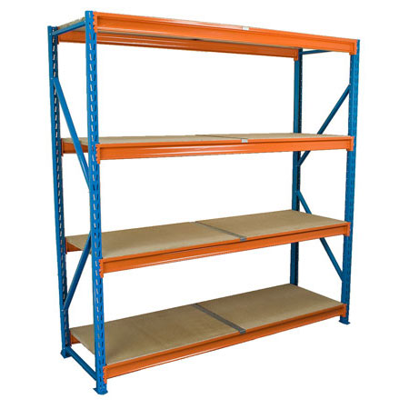BD2018454ST 1840mm x 450mm Starter Bay 4 Levels Longspan Shelving