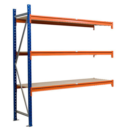 BD2018453EX 1840mm x 450mm Extension Bay 3 Levels Longspan Shelving