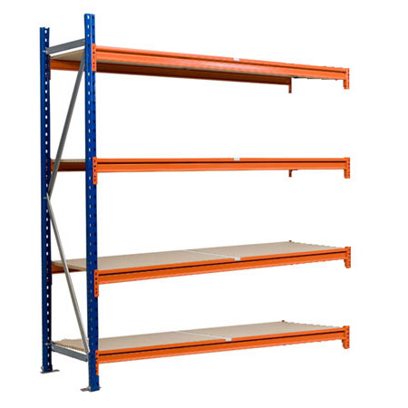 BD2018454EX 1840mm x 450mm Extension Bay 4 Levels Longspan Shelving