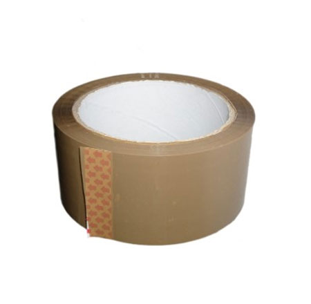 1 Roll of Brown self adhesive tape 50mm wide