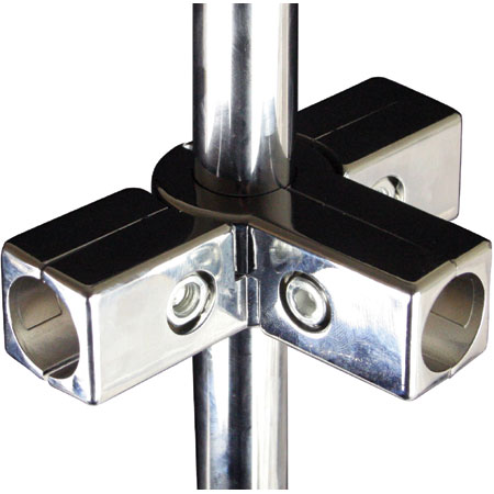 CHT5W32 Chrome Tube 5 Way Joint for 32mm diameter chrome tube