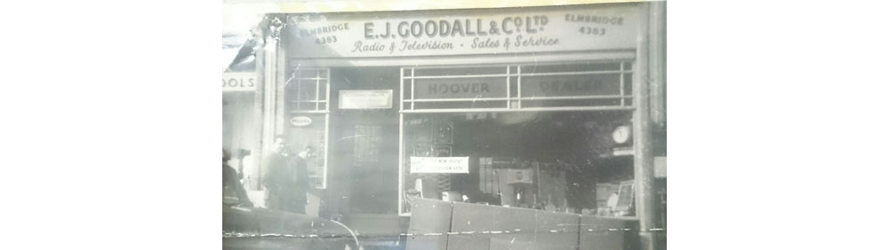 Ernest Goodall First Shop