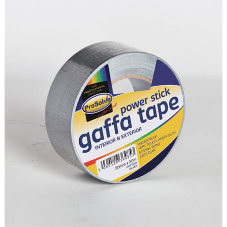 Gaffer Tape 50mm x 50m Strong Black Heavy Duty