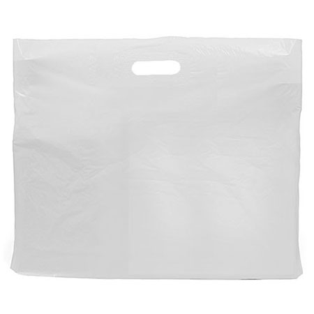 JXPH - HEAVY DUTY PLASTIC CARRIER BAGS (Box of 250)