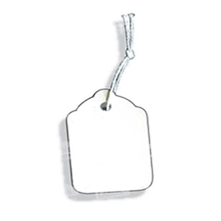 PST31 - White Swing Tickets - Pack of 100 - 70 x 50mm