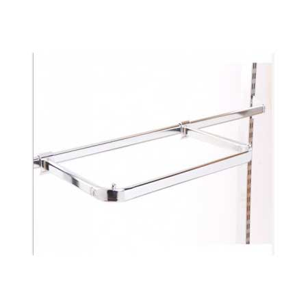 R1327 - 500mm D Rail For Flat Sided Oval Back Bar