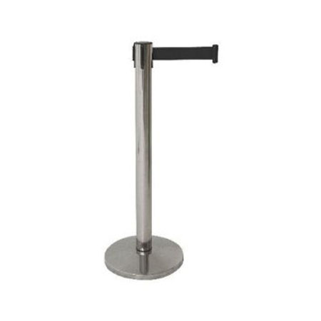 R202 Stainless Steel Retractable Barrier Post