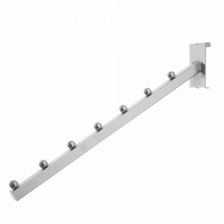 R423 - 7 Ball Waterfall Arm for Gridwall Panels