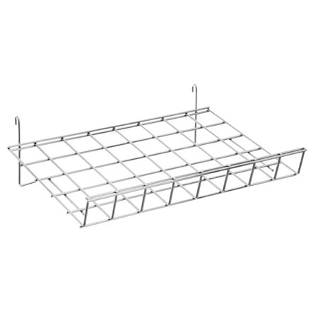 R430 Slanting shelf 61cm x 38cm for GridWall Panels