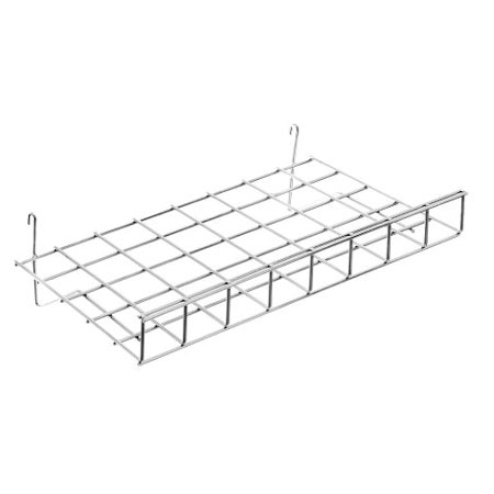 R431 Flat Shelf 61cm x 38cm for GridWall