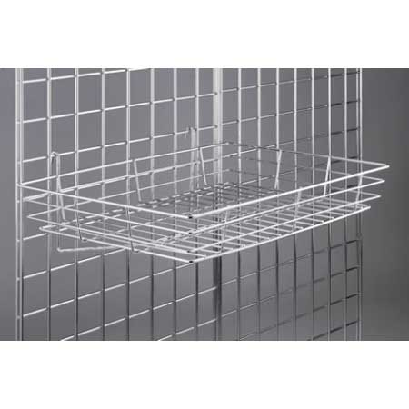 "R433 - Basket 15"" x 24"" for Grid Wall"
