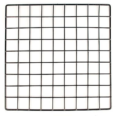 "R603 12"" x 12"" Grid Cube Panel Chrome"