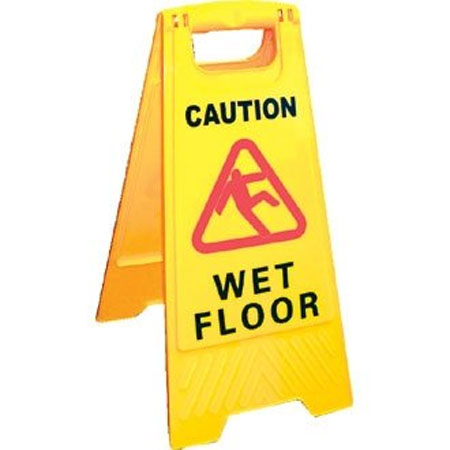 R6109 Wet Floor Sign