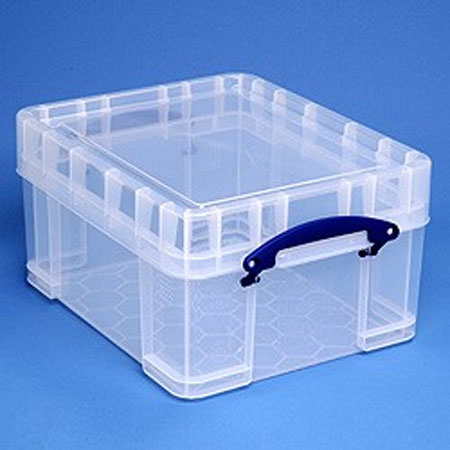 RUB21XL - 21 Litre Really Useful Boxes with high lid