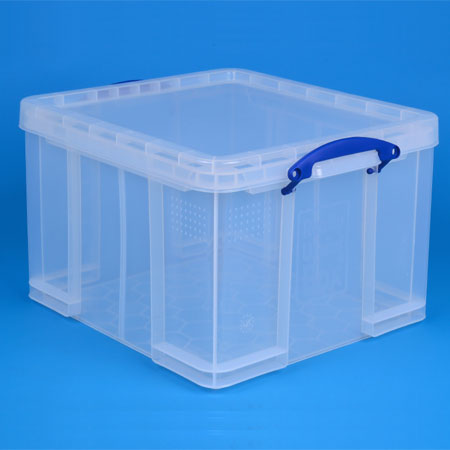 Clear 42 Litre Really Useful Box