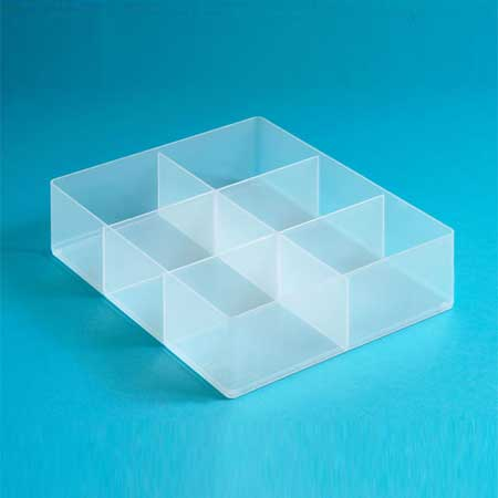 RUB6C - 6 Compartment Tray for really useful box