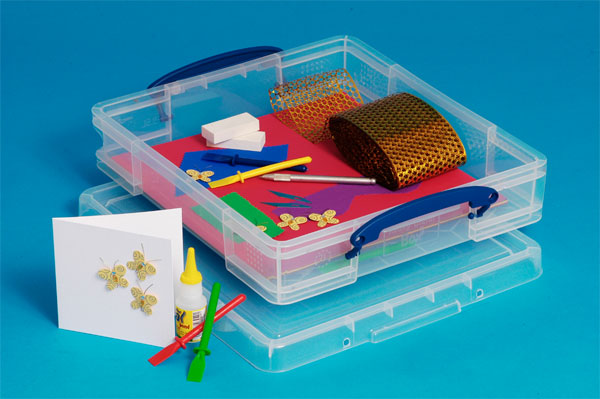 Clear 7 Litre Really Useful Box