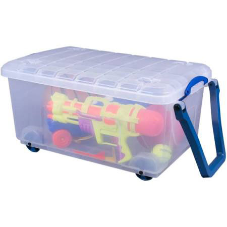 Really Useful Mobile 64 Litre Trunk complete with handle and lid