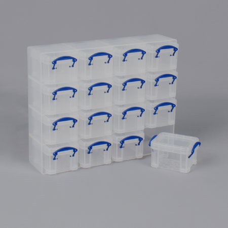 RUBORG014x16 - 16 x 0.14 boxes in compartment tray