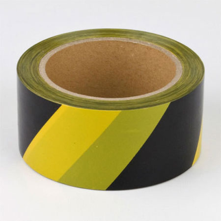 Roll Hazard Tape Yellow and Black 50mm x 50m Safety Tape