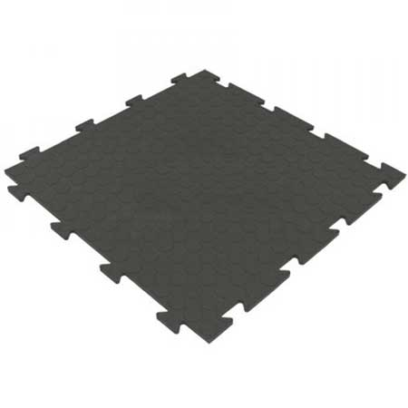 TSBPG Interlocking PVC flooring tiles 485mm square with raised bubble surface
