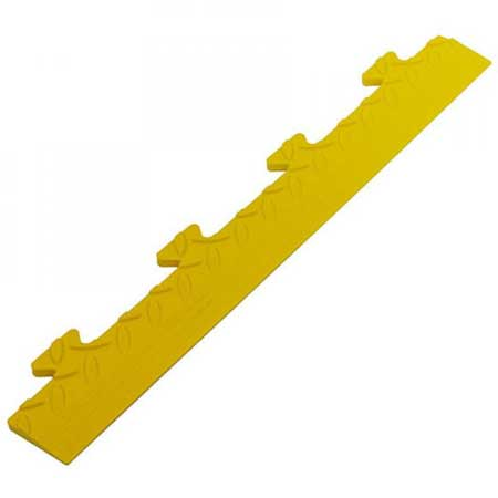 TSCPEMY PVC checker plate edge male lugs for interlocking floor tiles