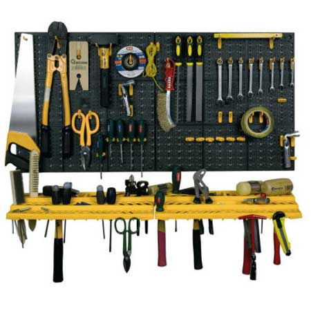 garage wall tool storage kit