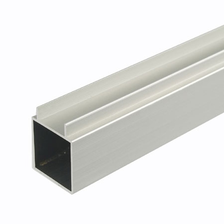TZDF1FSCA - 2Mtr Double Finned 25mm Square Tube