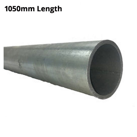 1050mm Length of Ultra Galvanised round Tube 33.7mm diameter