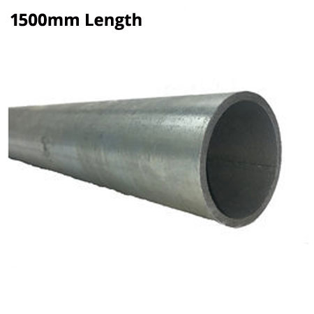 1500mm Length of Ultra Galvanised round Tube 33.7mm diameter