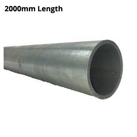 2000mm Length of Ultra Galvanised round Tube 33.7mm diameter