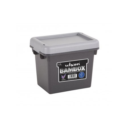 WB2.3L Wham Box 2.3Litre capacity Graphite Grey