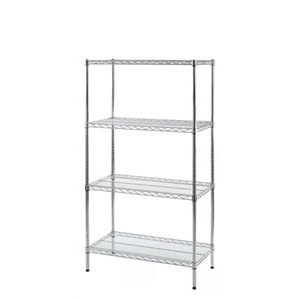 Wire Shelving unit 4 Shelf Levels 1525mm High