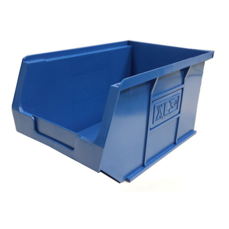 XL3B Blue Size 3 small parts picking bin 240mm deep x 150mm wide x 125mm high