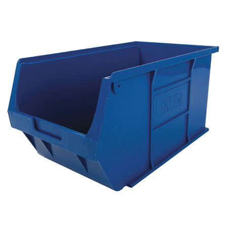 XL5B Blue Size 5 small parts picking bin 355mm deep x 200mm wide x 175mm high