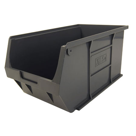 XL5ECO Grey Size 5 small parts storage bin 355mm deep x 200mm wide x 175mm high